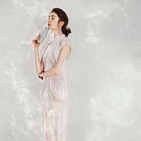 Выпускное Свадебное Вечерние платье ручной работы из бисера. Эксклюзивное роскошное платье. есільна сукня