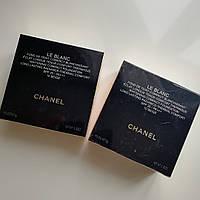 Пудра для лица  Chanel двойная LE BLANC (копия), фото 1