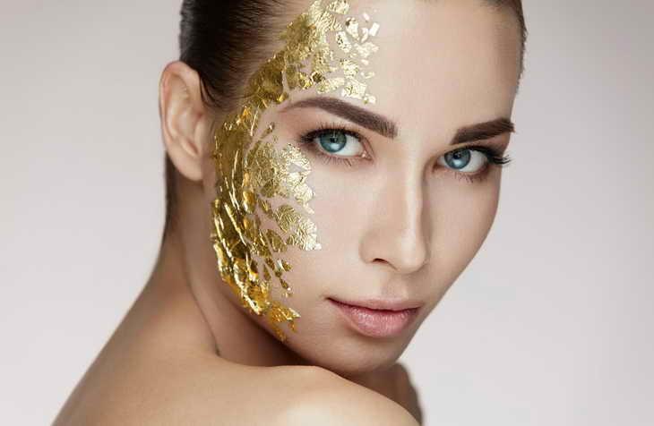 Трехкомпонентная лифтинговая золотая маска  Beauty Style США