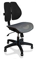 Кресло Mealux Ergonomic Duo (арт.Y-726 KBG) обивка черная однотонная