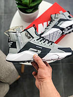 Мужские кроссовки Nike Huarache X Acronym City MID Leather ТОП реплика