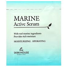 Пробник увлажняющая сыворотка с морской водой и водорослямиTHE SKIN HOUSE Marine Active Serum