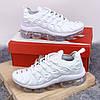 Мужские кроссовки белые Nike Air VaporMax (реплика ТОП)