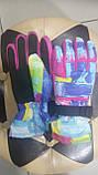 Перчатки женские розовые, сирень freever, фото 2
