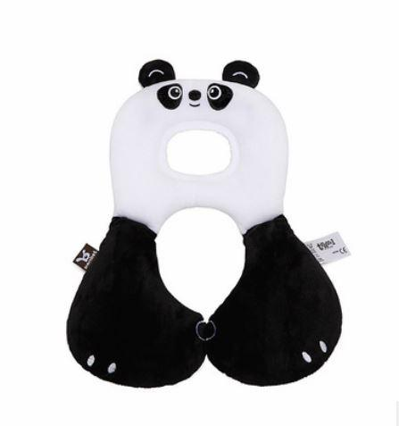 Дорожная шейная подушка, Панда, 0-12 м.