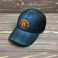 """Кепка """"Manchester United"""" с сеткой"""