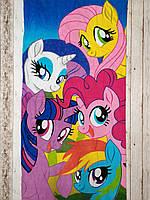 Пляжное полотенце Маленький Пони My Little Pony Реплика Турция