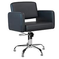 Кресло чорное в салон POLO AM006