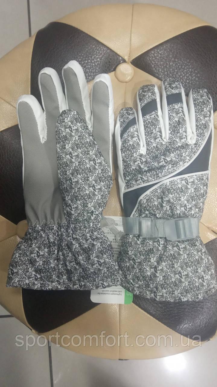 Перчатки женские белые freever