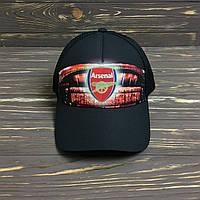 """Кепка """"Arsenal"""" с черной сеткой, фото 1"""