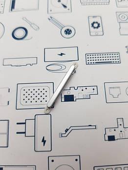 Кнопка громкости Doogee Y100 Pro серая Сервисный оригинал с разборки