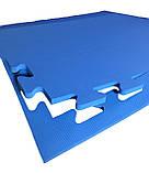Килимок-пазл EVA, т. 11-12мм, щільність 100 кг/м3 TERMOIZOL®, набір 6 шт, фото 3