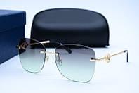 Солнцезащитные очки Chopard 24 зеленые