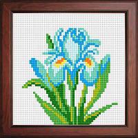 Набор с нитками Orchidea - Голубой Ирис