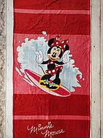 Пляжное полотенце Минни Маус Minnie Mouse Реплика Турция