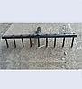 Грабли садовые металлические №3 с круглыми зубцами