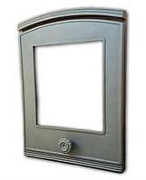 Печные дверцы со стеклом Halmat DP5 (Н1813) (370x250)