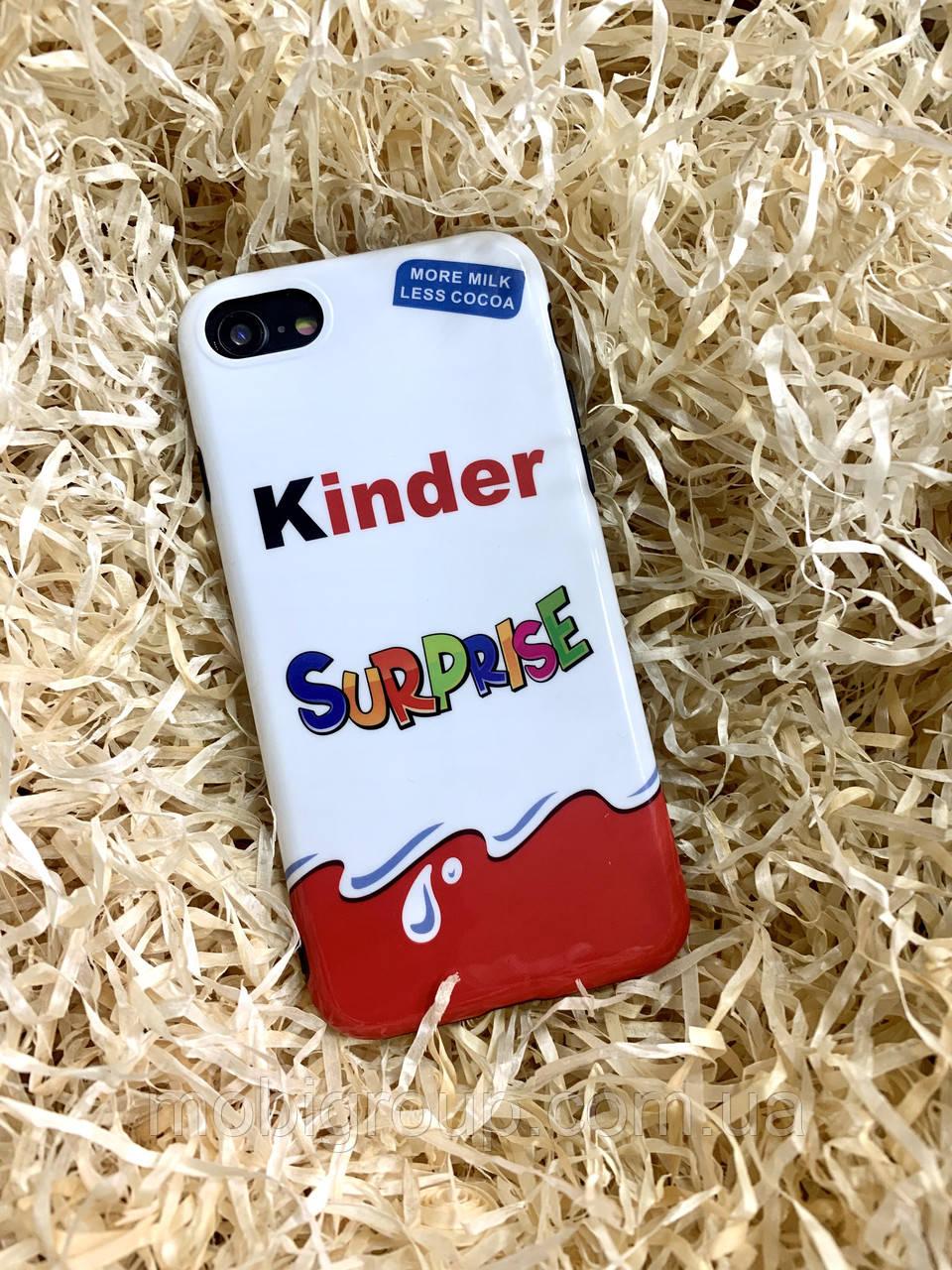 Чехол Kinder Surprise для iPhone 7/8, силиконовый