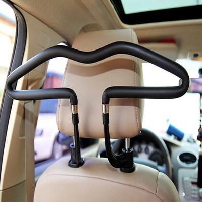 Вешалка Автомобильная для Одежды на Сиденье Черная (BY-208)