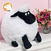 Мягкая игрушка баранчик Шон 50 см, белый, фото 2