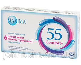 Контактні лінзи Maxima 55 Comfort+ (6шт.в уп)