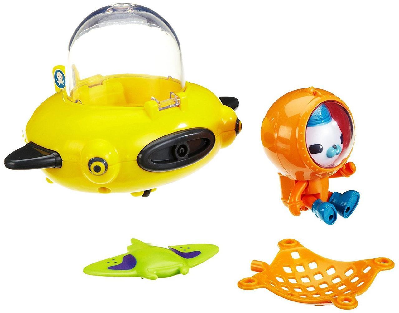 Октонавты Барнаклс подводный аппарат Гуп-Д Fisher-Price Octonauts Gup D Playset