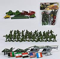 Набор солдатиков и военной техники, игрушка для мальчика