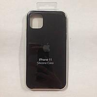 Чехол для iPhone 11 Silicone Case Black