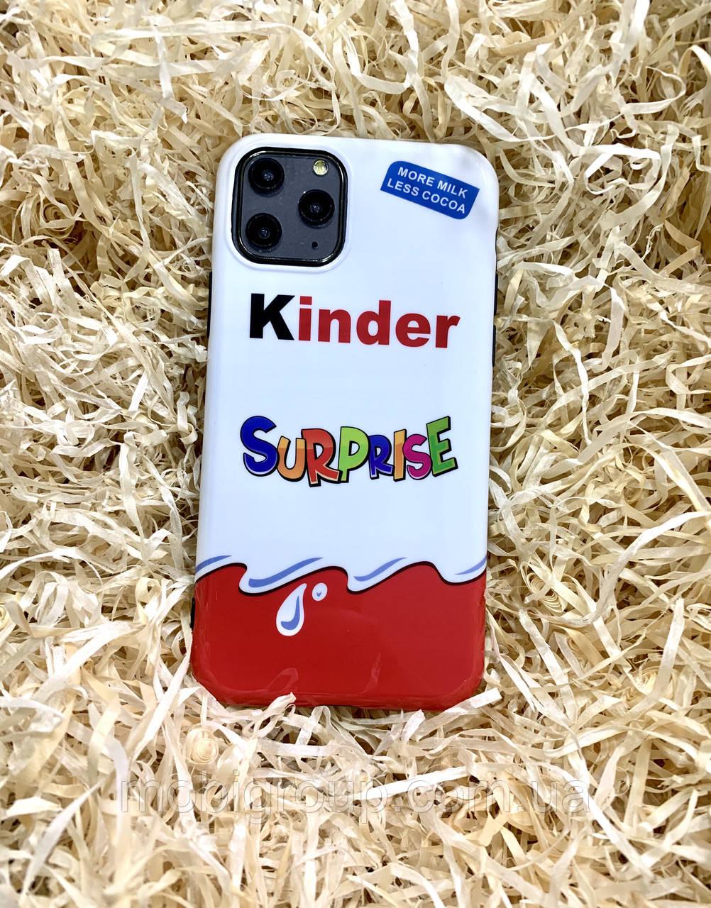 Чехол Kinder Surprise для iPhone 11 Pro Max, силиконовый
