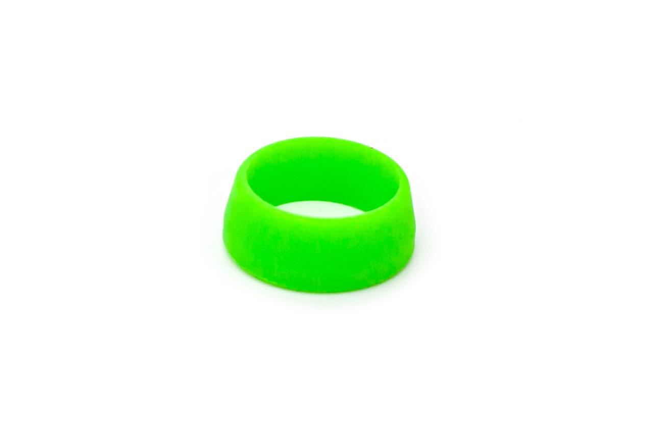 Силиконовое кольцо для защиты подседела от влаги, RISK (30.0 - 34.9 мм) салатовое