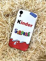 Чехол Kinder Surprise для iPhone XR, силиконовый