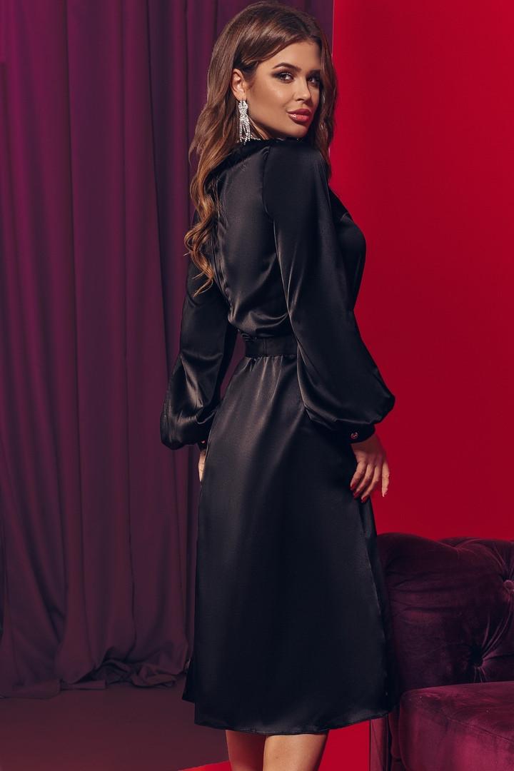 Женское элегантное платье с вырезом т.м. Амбре AM1738