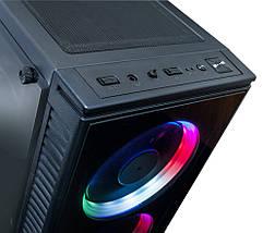 Корпус компьютерный Frime BASTION RAINBOW LED, фото 3