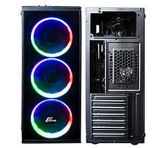 Корпус компьютерный Frime BASTION RAINBOW LED, фото 2