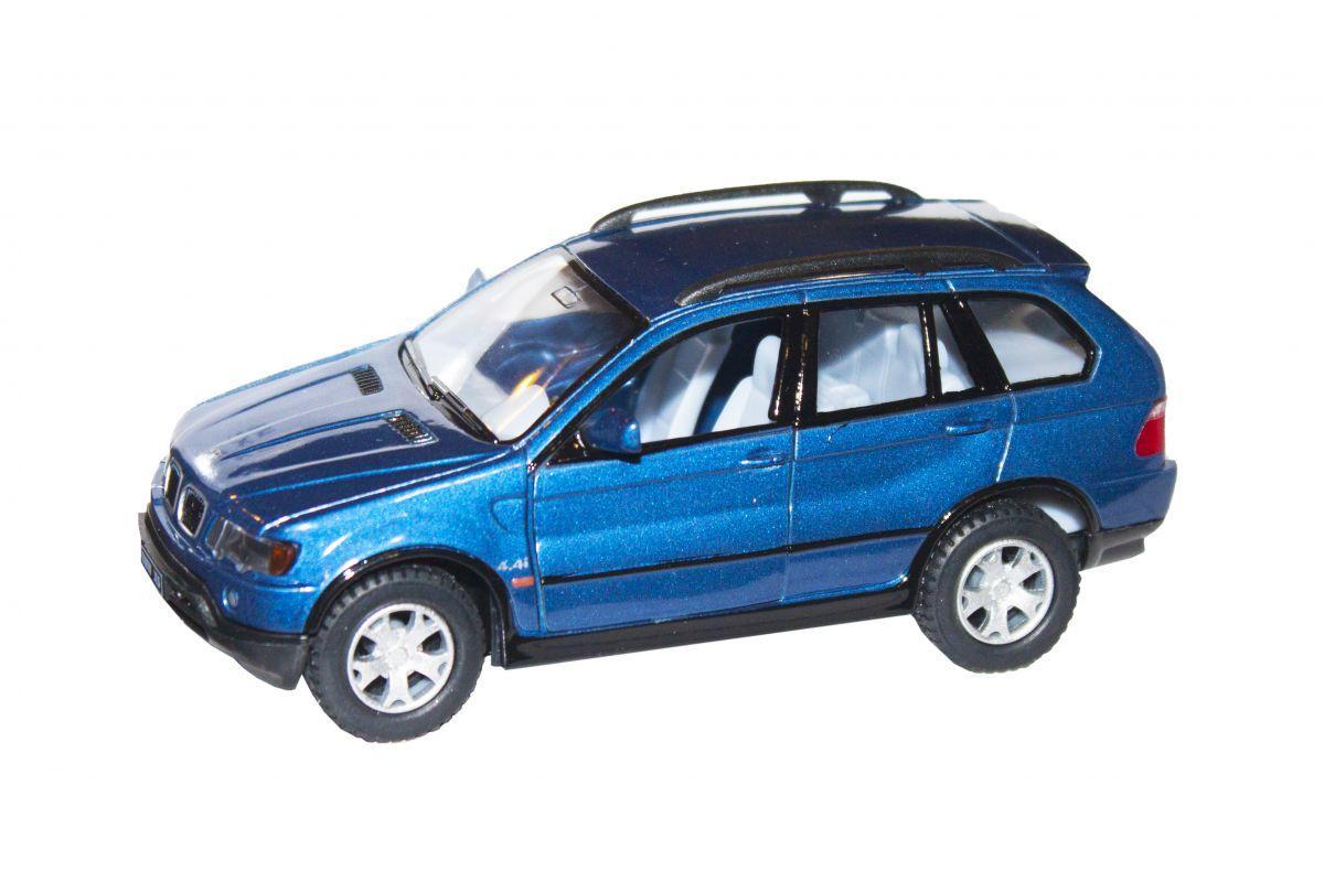 Машинка KINSMART BMW X5  синяя