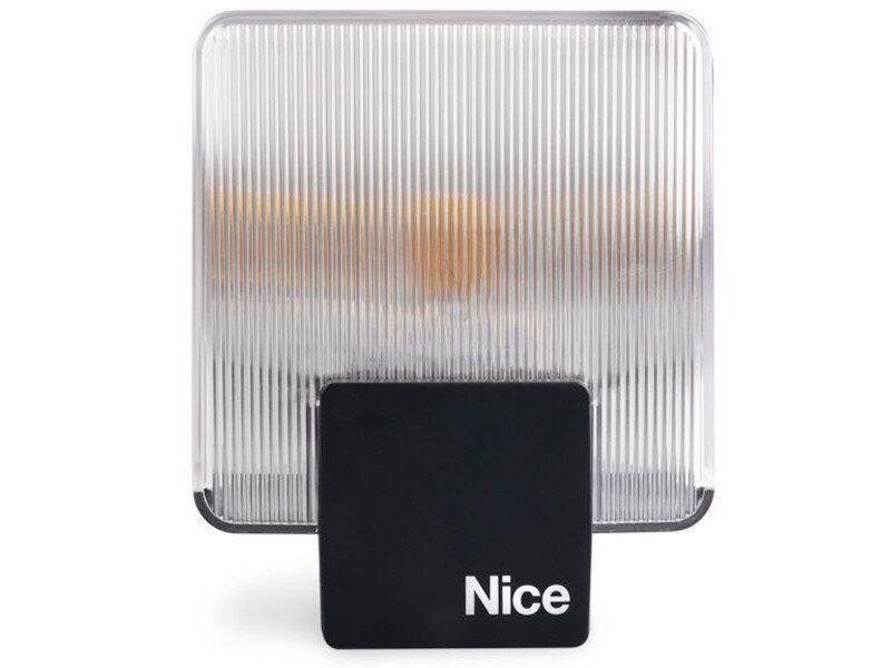 Сигнальная лампа NICE EL со встроенной антенной, 230В, оранжевая