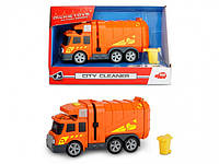 Функциональный автомобиль Dickie Toys Уборщик города со светом и звуком 15 см (3302000)