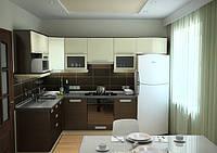 Кухонные гарнитуры с фасадами из пленочного МДФ