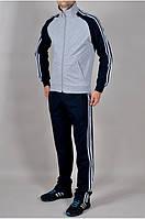 Мужской спортивный костюм Adidas. Чоловічий спортивний Adidas. Спортивные штаны + кофта. Осень весна. Трикотаж