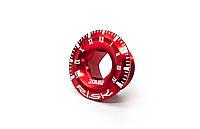 Гайка для шатуна Shimano c интегрир. осью AL М20 RISK (красный)