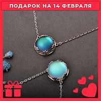 ✨Идеальный подарок для каждой девушки!💫Новинка! Кулон из серебра с лунным камнем💫✨