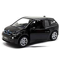 Машинка KINSMART BMW I3 чёрная
