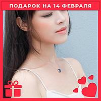 ✨Идеальный подарок на 14 февраля!💫Серебряный кулон Луна💫✨