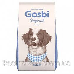 Сухой корм Gosbi Original Adult, с курицей для взрослых собак всех пород, 12 кг