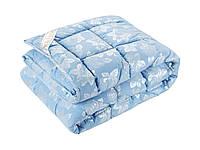 Одеяло DOTINEM ROSALIE искусственный лебяжий пух 175х210 см голубое (211132-2)