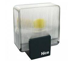 Сигнальная лампа NICE EL белая со встроенной антенной 230 в