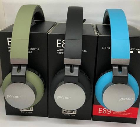 Наушники Bluetooth GORSUN GS-E89, фото 2