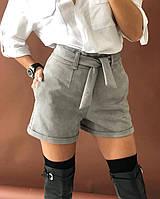 Классические женские шорты из замша на дайвинге, фото 1