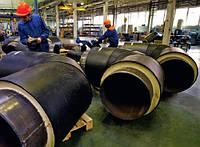 Предизолированные стальные трубы 426/560 в оболочке (ПЭ; СПИРО)