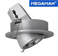Светильник потолочный поворотный Megatron Malcolm для ламп PAR16/GU10 серый